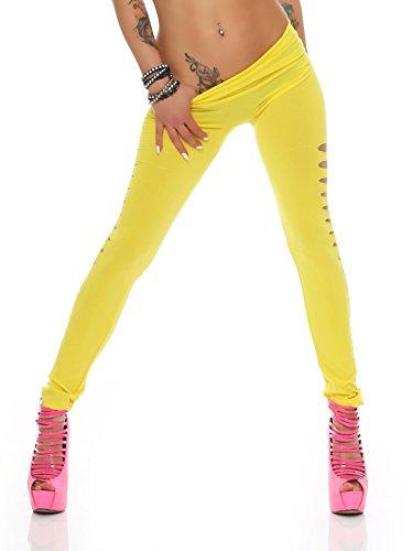AE - Legging - Femme Jaune