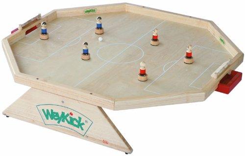 WeyKick Fußball Arena 7700 Tischfußball mit Magneten natur, standard