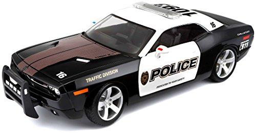 Maisto 531365 - 1:18 Dodge Challenger Concept 2006 Polizei Auto -