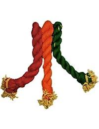 Dupatta (Weavers Villa Set Of 3 Multicolor Chiffon Dupattas (70 Different Colour Set Combinations Available)) - B06XCVQ71M