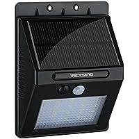 VicTsing Luz de solar LED/foco LED con Sensor de Movimiento de 400lm 20 LEDs 1 Pack