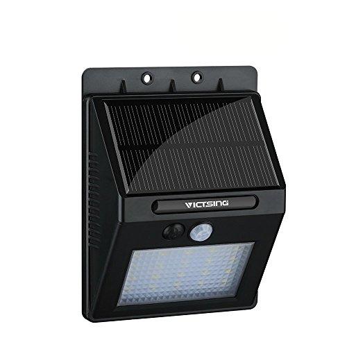 VicTsing 400lm Lampada LED ad Energia Solare, Luci Solari da...