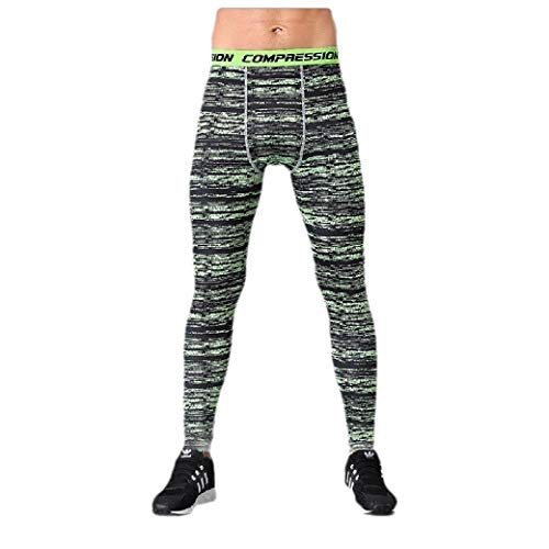 Energy Mens Outdoors Printing Camo Quick Dry Sport Leggings Trousers Pattern16 M