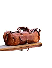 Mk Bags, Leather Luggage Bag/Travel Duffles Bags For Men/Women/Unisex A23