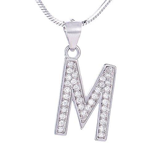 Morella Mujeres Collar de Letras Collar y...