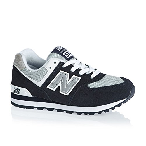 New Balance K 574v1, Baskets Basses Mixte Enfant Bleu