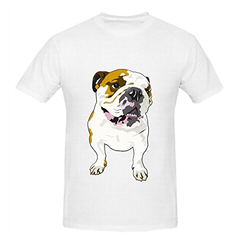 bulldog-men-o-neck-cute-t-shirt-white
