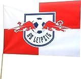 Stockflagge RB Leipzig - 40 x 60 cm, + gratis Aufkleber, Flaggenfritze®