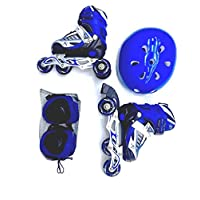 PRO ACTION INLINE SKATE BLUE L(39-42)