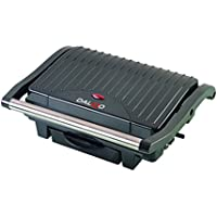 Dalkyo MB-34 Plancha Grill y sandwichera panini Press, 1000 W, Otro,