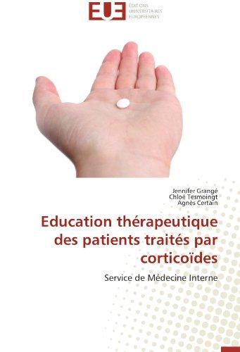 Education thérapeutique des patients traités par corticoïdes