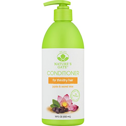 Nature's Gate Jojoba Revitalizing Conditioner for Damaged Hair, 18-Ounce Bottles (Pack of 4) by Nature's Gate - Jojoba-revitalizing Conditioner