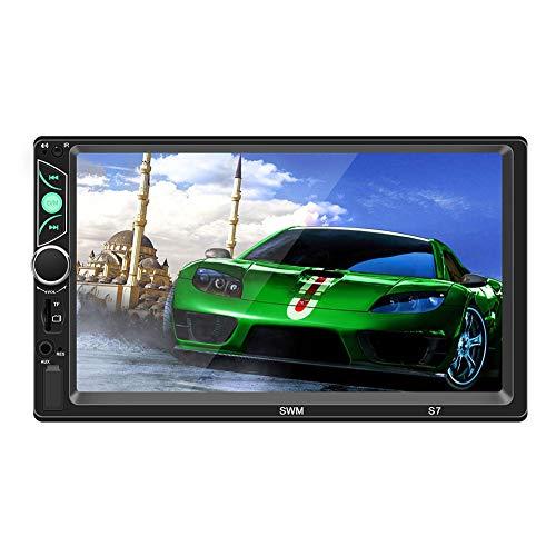 CCDZ GPS Navi Navigation Für Auto LKW PKW KFZ 7 Zoll Bluetooth Android 16GB Lebenslang Kostenloses Kartenupdate Kapazitiver Touchscreen, Navigationsgerät Mit