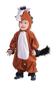 Déguisement pour enfant - Cheval en peluche - Taille bébé