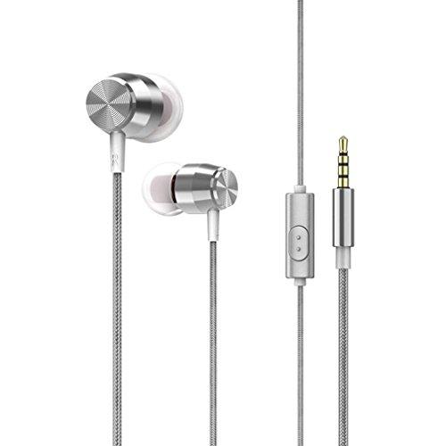 f9261a7354d625 Y56 Estéreo de 3,5 mm con micrófono Bass Stereo auriculares in-ear  auriculares