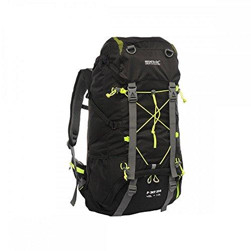 Regatta blackfell 45L + 10L rucksack-black Schwarz