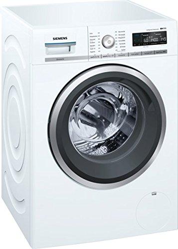 Siemens iQ700 WM4WH640 Waschmaschine / 8,00 kg / A+++ / 137 kWh / 1.400 U/min / Dosierautomatik iDos / WLAN-fähig mit Home Connect / Nachlegefunktion /