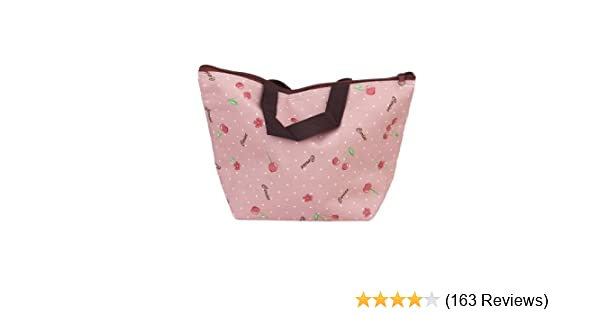 Nouveau pratique Dot Pattern Outdoor main Lunch Cooler Thermo Sac organisation W