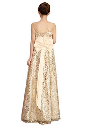 Ikerenwedding - Robe - Femme Small Champagne