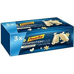 PowerBar Protein Riegel mit Casein, Whey und Sojaprotein – Eiweiß-Riegel, Fitness-Riegel reich an Ballaststoffen – Vanilla-Coconut (3 x 55g)