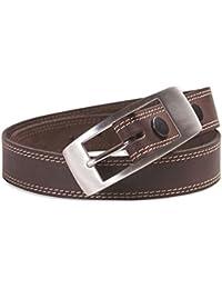 Hawkdale - Herren Gürtel aus Vollnarbenleder mit Naht-Detail - Breite 30 mm - Hergestellt in Großbritannien - # 8R-F71-400