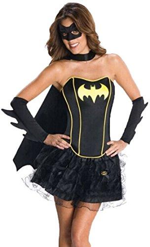aimerfeel der Frauen Superhelden Korsett-Ballettröckchen Batgirl Kostüm, Größe: (Korsetts Superhelden)