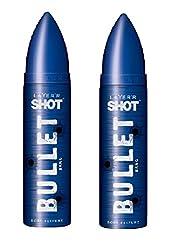 Layerr Shot Bullet Bang Deodorant For Men ( pack of 2 )