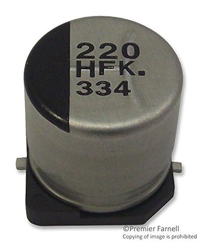 Capacitors - Aluminium Electrolytic - CAP ALU ELEC 100UF 4V SMD - EEE0GA101SR