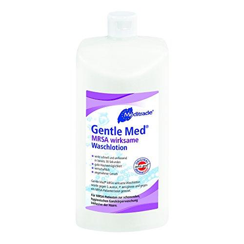Meditrade 00961d Gentle Med MRSA di azione Same Lozione Detergente, flacone da 500ml