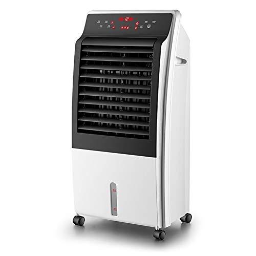 Air conditionné mobile air froid Refroidisseur d'air conditionné chauffage de ventilateur et deux quarts de climatisation ventilateur de refroidissement refroidi à l'eau domestique petite Convient pou