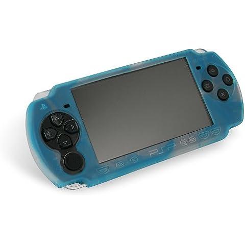 Speed-Link Silicon Skin for PSP(TM) Slim&Lite, white-blue - fundas para consolas portátiles (white-blue)