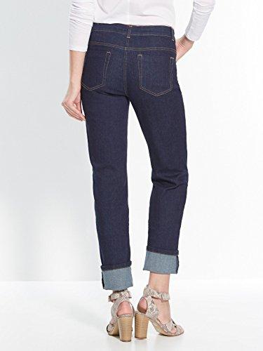 Balsamik - Gerade Jeans, normale Hüftbreite - Damen Raw Denim