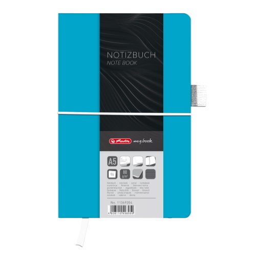 herlitz-a5-my-book-fashion-hardcover-notebook-with-book-ribbon-and-pen-loop-ocean-blue