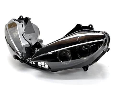 Motorcycle Racing Sport Lamp HID Housing Motor Accessoriess Smoke Headlight Fairing Signal Light Fit For Yamaha 03-05 YZF R6 YZFR6 YZF-R6 06-09 YZF R6s YZFR6s YZF-R6s