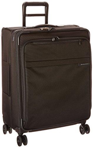 Briggs & Riley ,  Uni Koffer, Oliv (Grün) - U125CXSP-7 schwarz