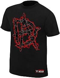 "Official WWE–Dean gauba ""este Lunatic corre el Asilo"" Authentic camiseta"