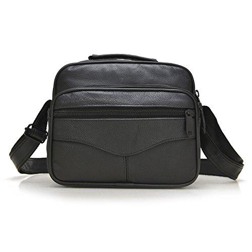 Mefly Classic Bags Neue Leder Herren Taschen Für Männer Single Schulter Flat plate