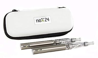 E-Zigarette Doppel-Set eGo-T - 2x Einsteiger-Set / Atomizer mit Etui - Original: Nox24 - verschiedene Farben von Nox24