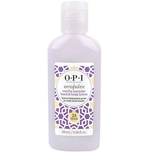 OPI Avojuice Vanilla Lavender Hand- & Bodylotion 30 ml Hand- & Bodylotion mit dem Duft einer traumhaften Verbindung von cremiger Vanille & Lavendel