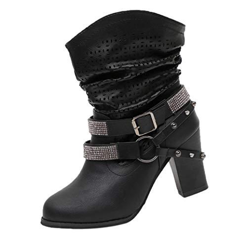 ❤️ Funkelnde Strass Band Stiefeletten, Amlaiworld Elegant Urlaub Stiefel Freizeit Gemütlich Casual Schuhe Damen Stilvoll Classic Absatzschuhe