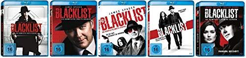 The Blacklist Staffel 1-5 (1+2+3+4+5) [Blu-ray Set]