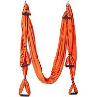 Etothigh Anti-Gravedad Yoga Hamaca Yoga Volar Dispositivo de tracción aérea  Pilates Cuerpo Forma Yoga bf8a09c9005a
