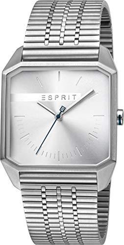 Esprit Reloj Analógico para Hombre de Cuarzo con Correa en Acero Inoxidable ES1G071M0045