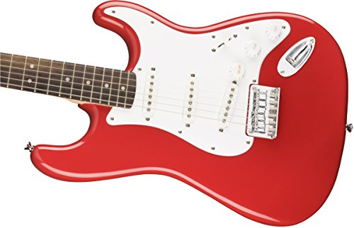 Squier Stratocaster Bullet hard Tail chitarra elettrica – FIESTA rosso