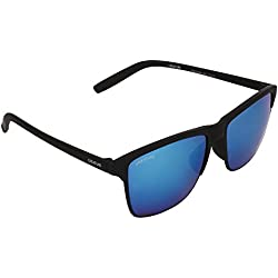 Creature Wayfarer Uv Protected Sunglasses (Lens-Blue||Frame-Black||DOIT-004)