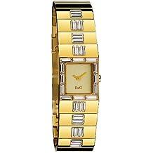 D&G Dolce&Gabbana D&G Rocket - Reloj analógico de mujer de cuarzo con correa dorada