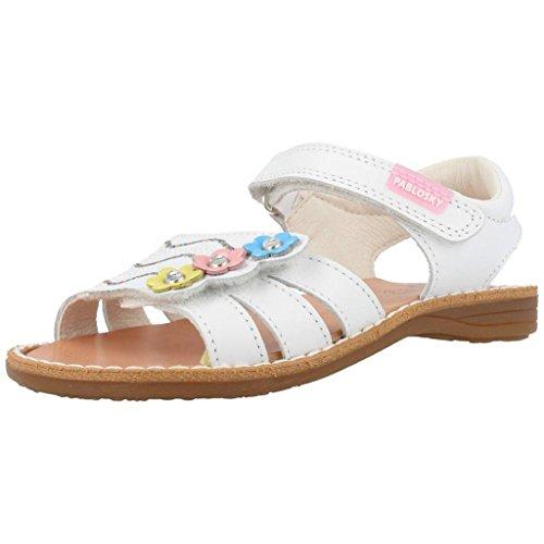 Sandali e infradito per ragazza, color Bianco , marca PABLOSKY, modelo Sandali E Infradito Per Ragazza PABLOSKY CAPRI II Bianco