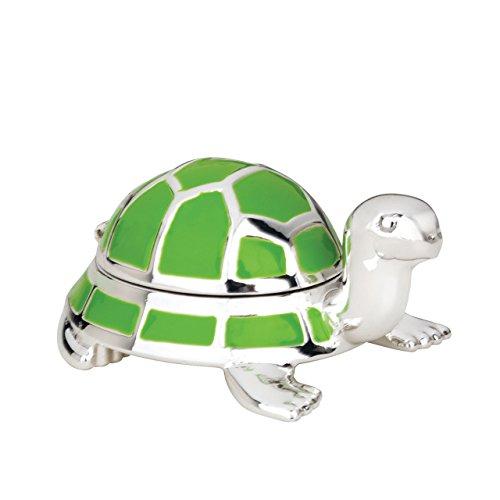 Reed & Barton 9136Jungle Parade Silberbeschichtung Schildkröte Zahnfee Box Reed - & Barton Box