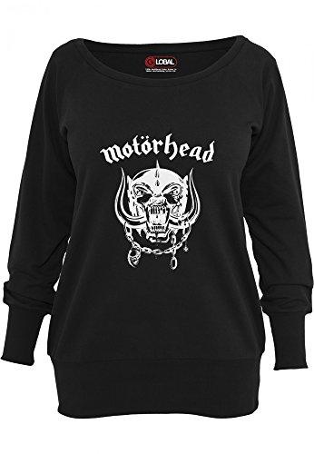Motörhead Everything Louder Pull Femme noir Black
