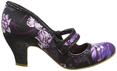 Irregular Choice Damen Candy Whistle Pumps Black (Black Multi)